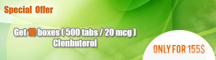 Buy Clenbuterol 10 boxes ( 500 tabs/20mcg )